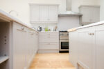 Maple and Grey Shaker Kitchen